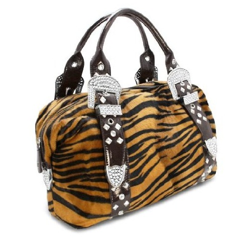 Snooki Wild Tiger Handbag